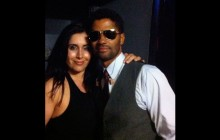 Angela and Eric Benet.
